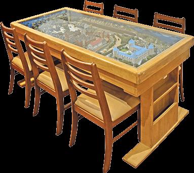 ジオラマ収納テーブル 6人掛けサイズ