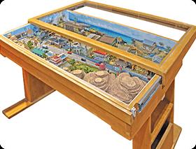 ジオラマ収納テーブル