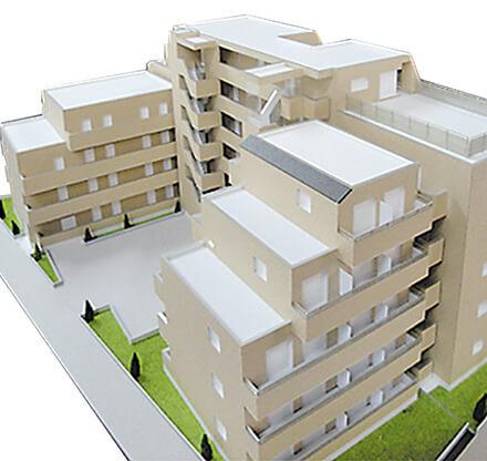 集合住宅模型