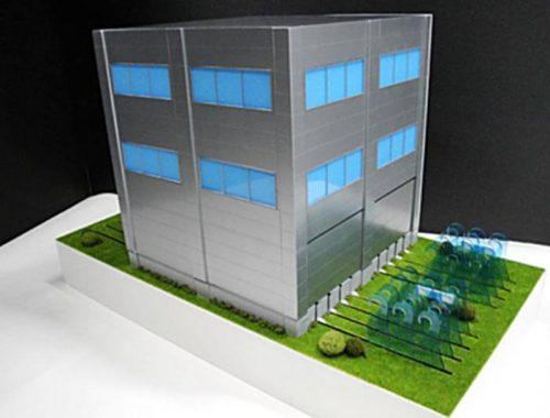 01 津波対策壁説明模型