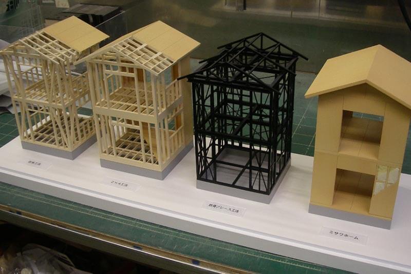 02 構造比較模型