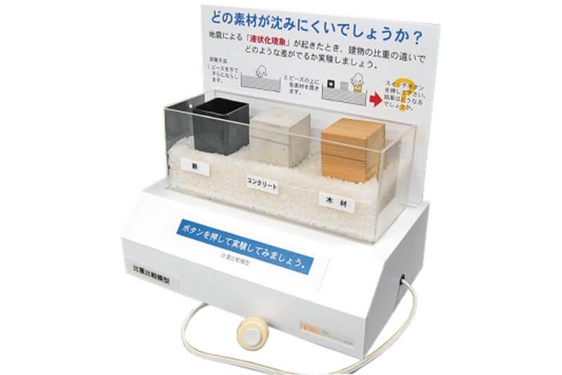 11 電動式比重比較模型