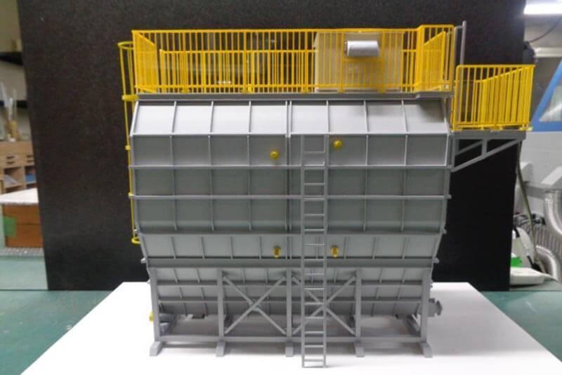 01 炭カルサイロ模型