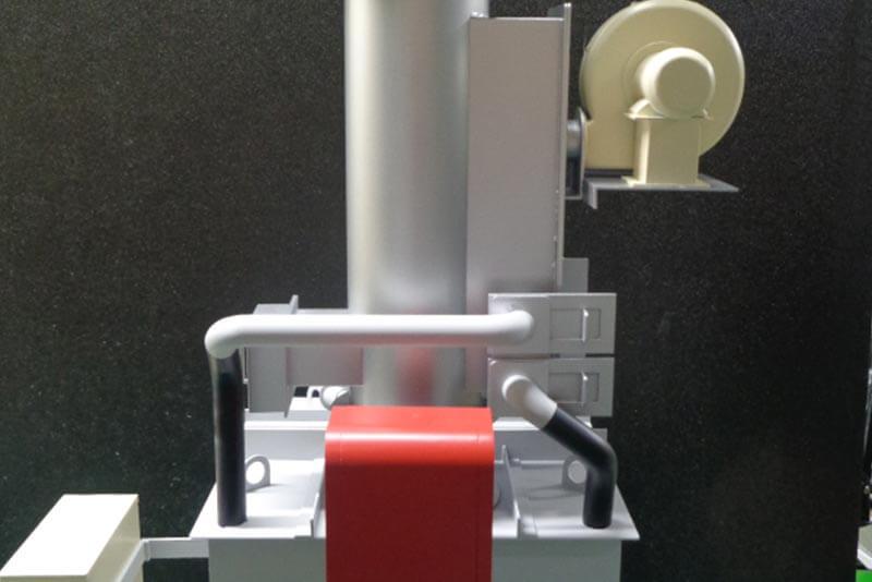 02 焼却炉模型