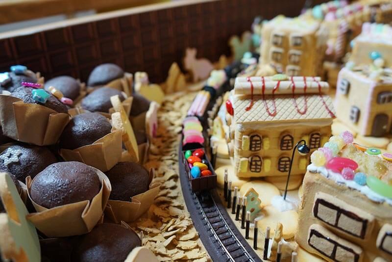 14 お菓子の街