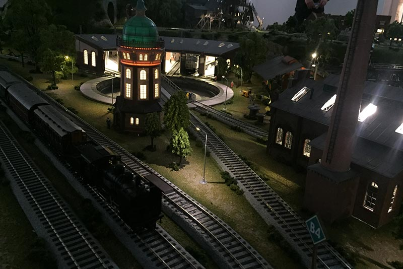 19 S様邸HOジオラマ