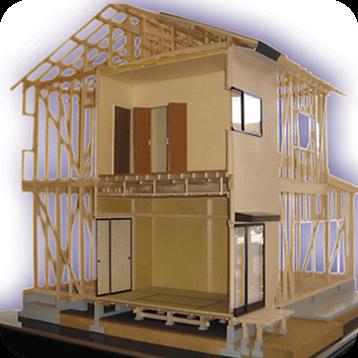 構造説明模型