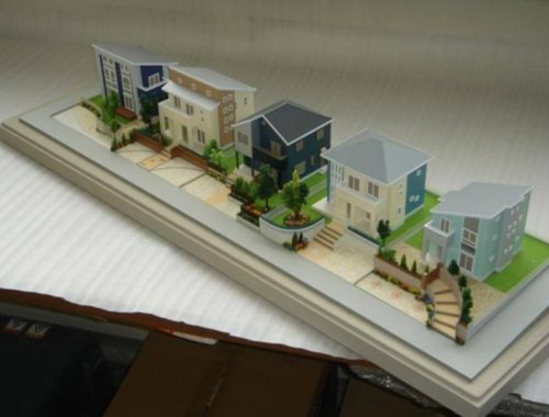 01 分譲地模型