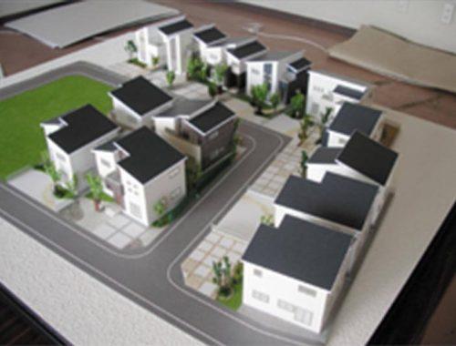 02 分譲地模型