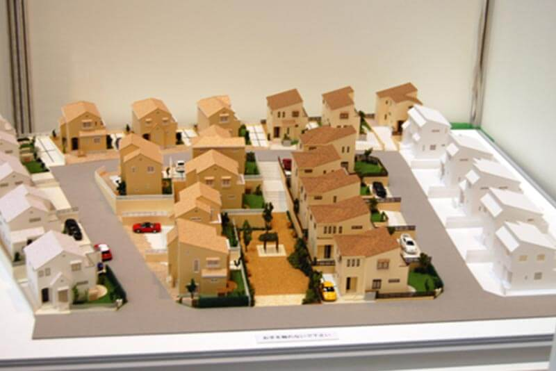 03 分譲地模型