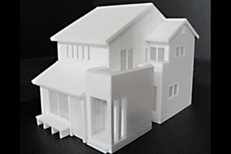 05 住宅模型_ホワイト