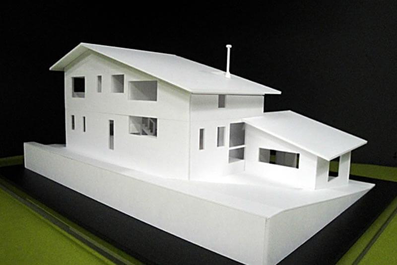 07 住宅模型_ホワイト