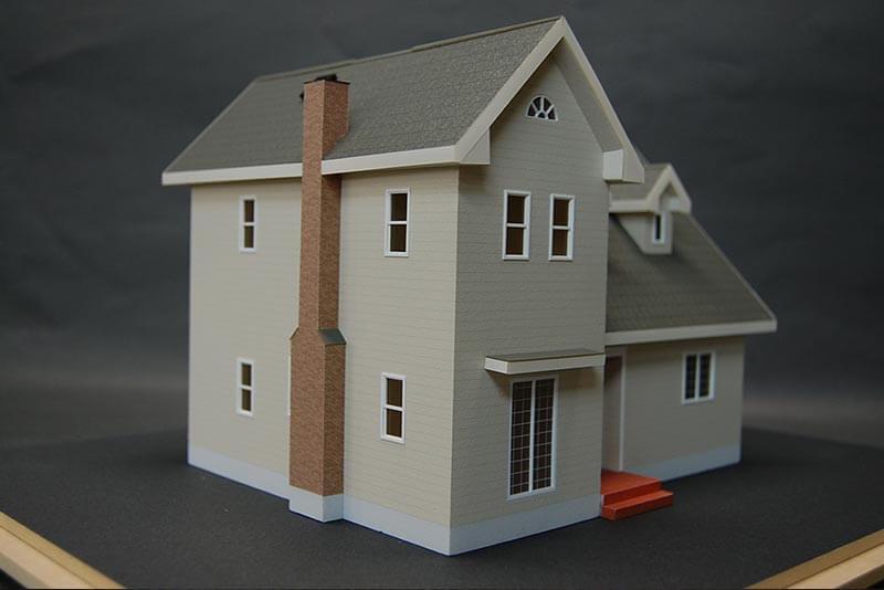 08 住宅模型_カラー