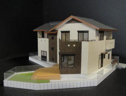 09 住宅模型_カラー