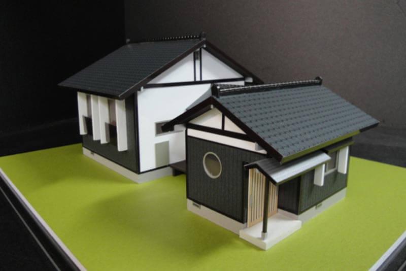 10 住宅模型_カラー