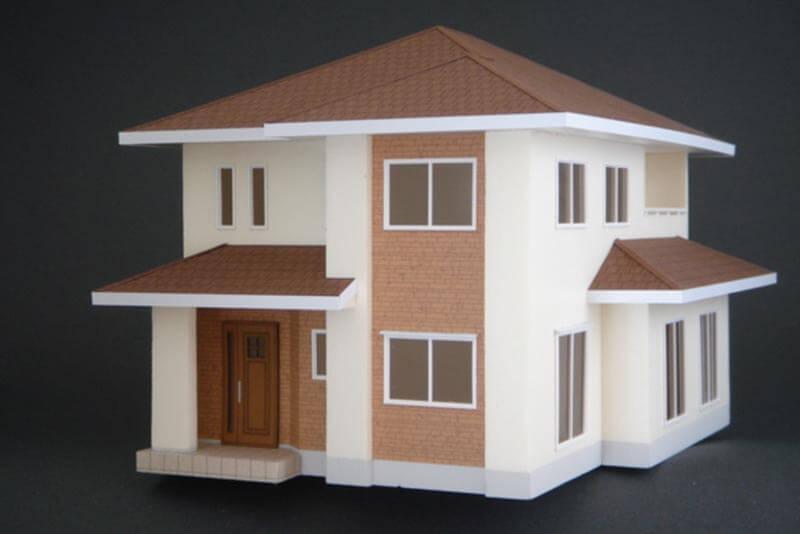 11 住宅模型_カラー