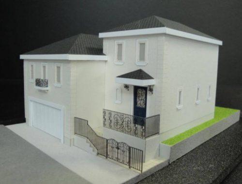 12 住宅模型_カラー