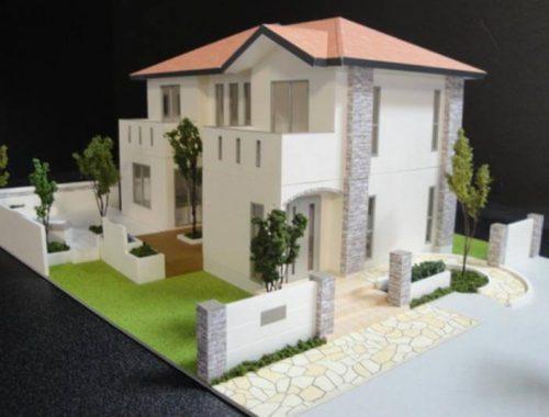 13 住宅模型_カラー