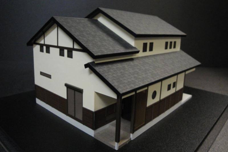 14 住宅模型_カラー
