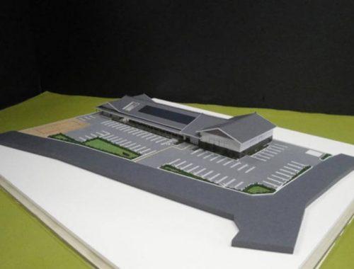 15 住宅模型_カラー