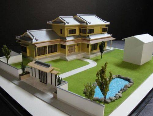 16 住宅模型_カラー