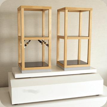 電動式制震構造比較模型