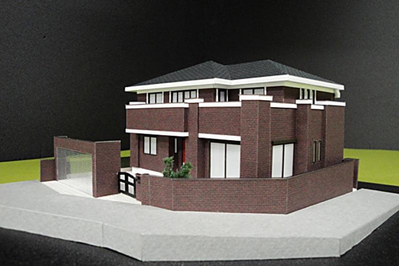 20 住宅模型_カラー