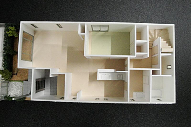 21 住宅模型_カラー
