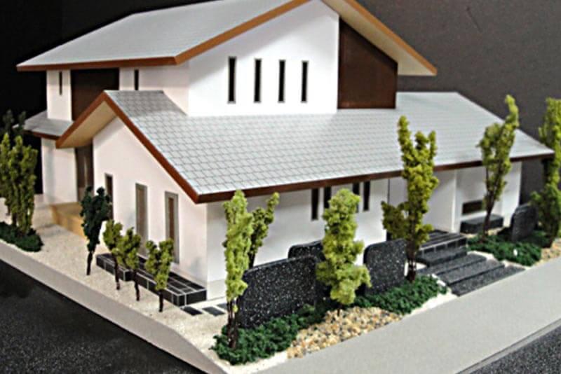 22 住宅模型_カラー