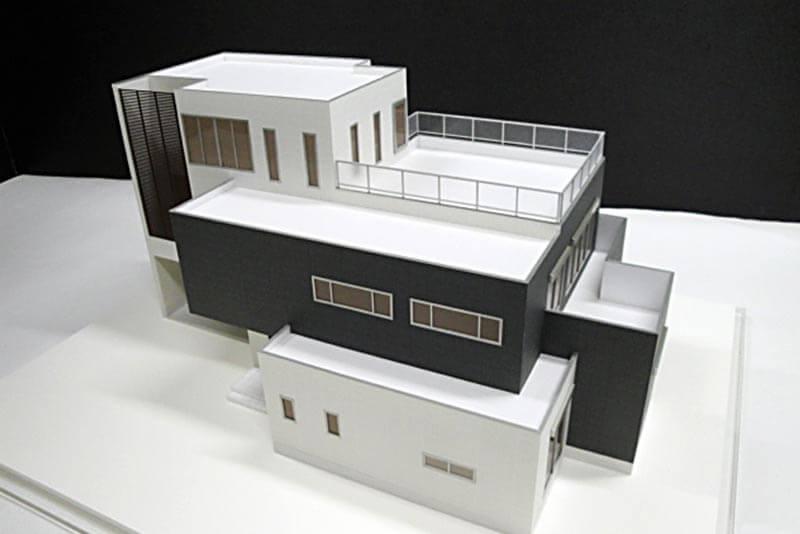 23 住宅模型_カラー