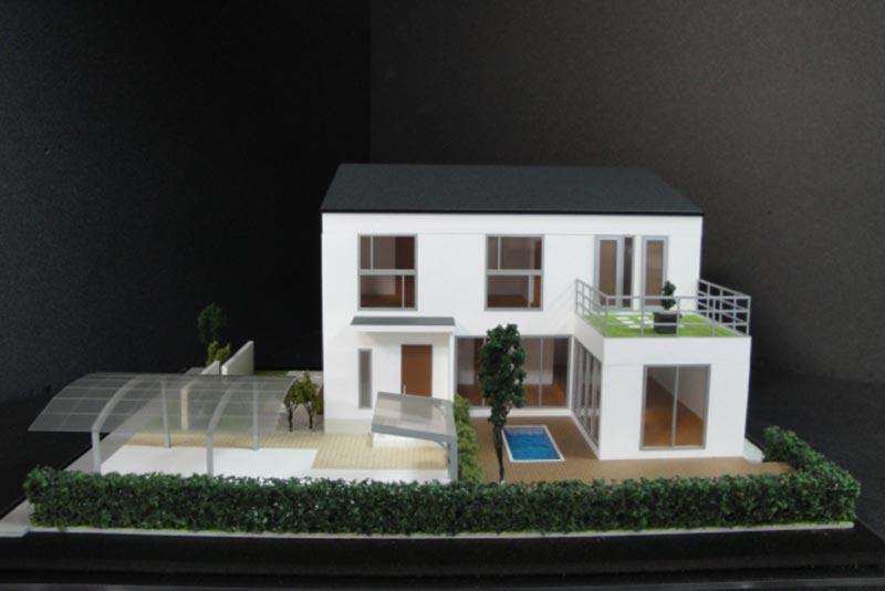 24 住宅模型_カラー