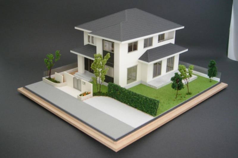 25 住宅模型_カラー
