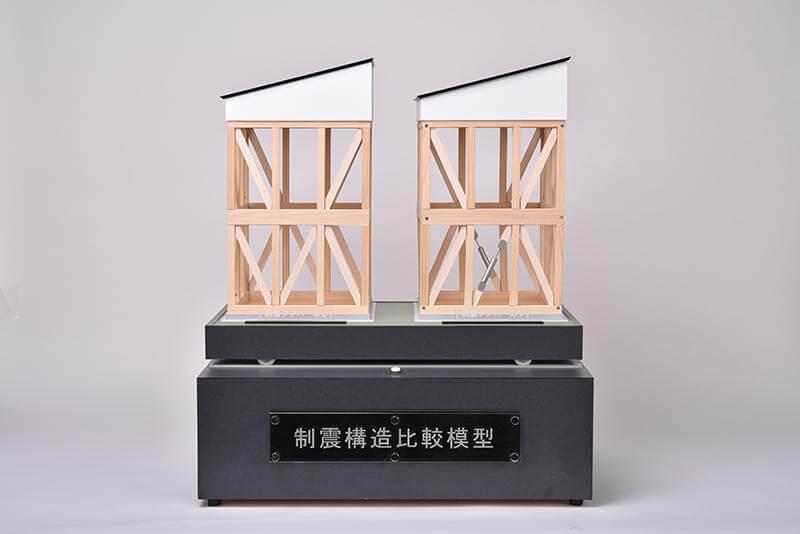 20 電動式制震構造比較模型
