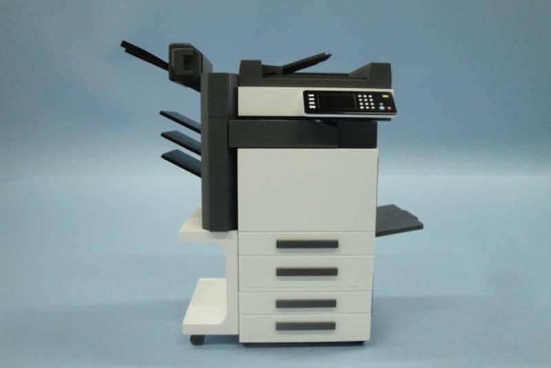 10 コピー機模型
