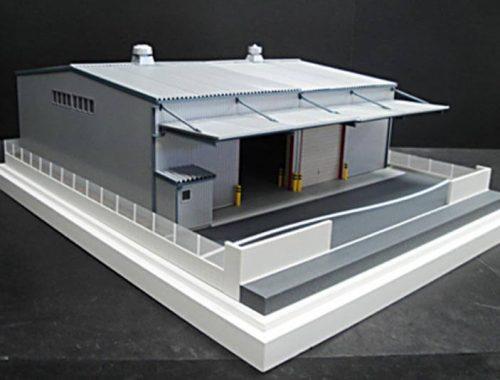 12 倉庫模型