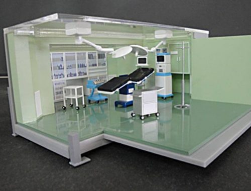 14 医療システム模型