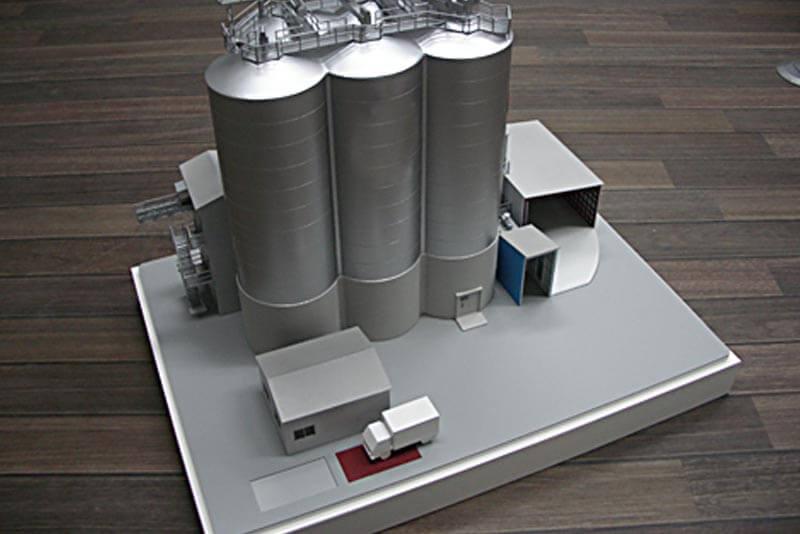15 飼料工場模型