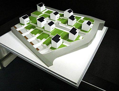 30 分譲地模型