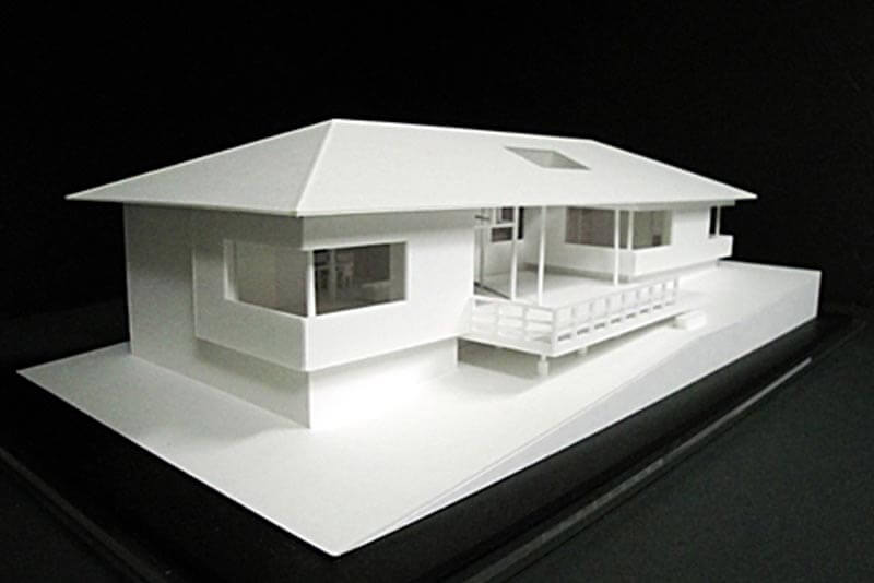 31 住宅模型_ホワイト(スタディ模型)
