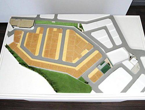 36 分譲地区画模型