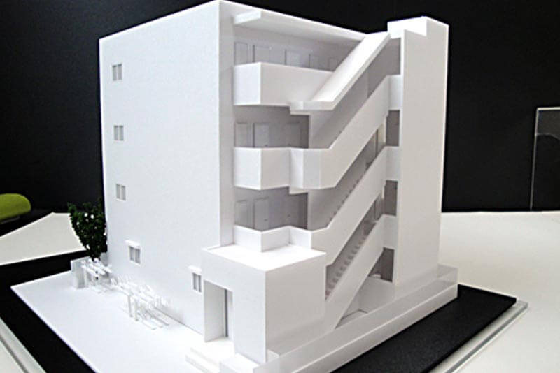 42 集合住宅模型