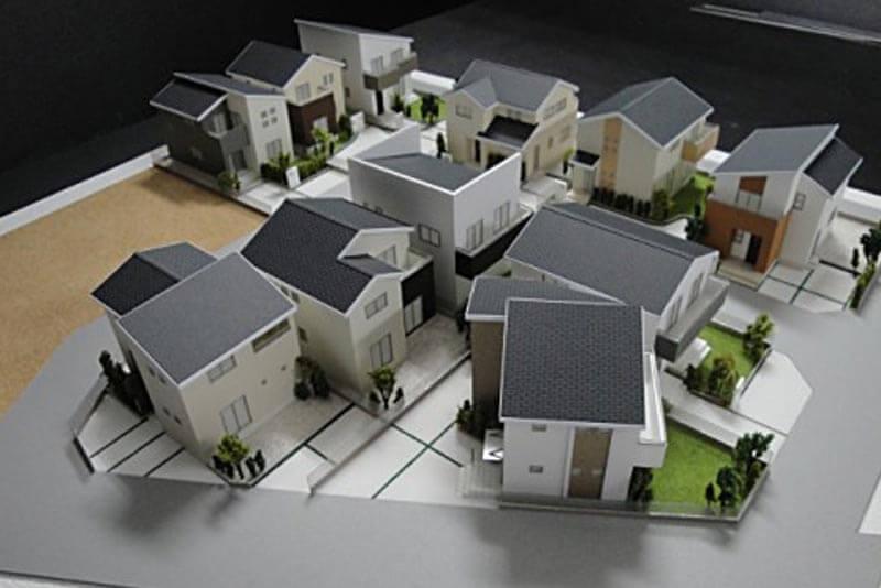 43 分譲地模型