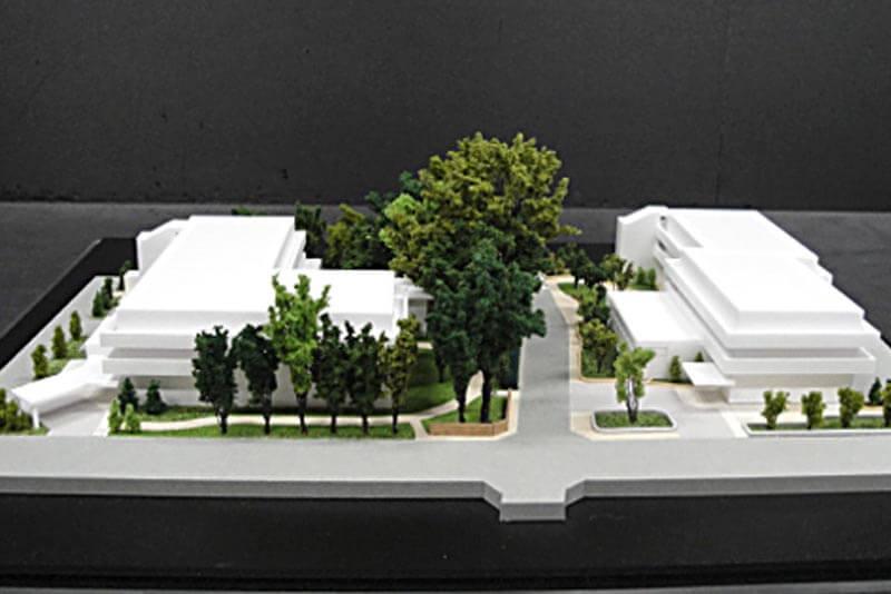 46 集合住宅模型