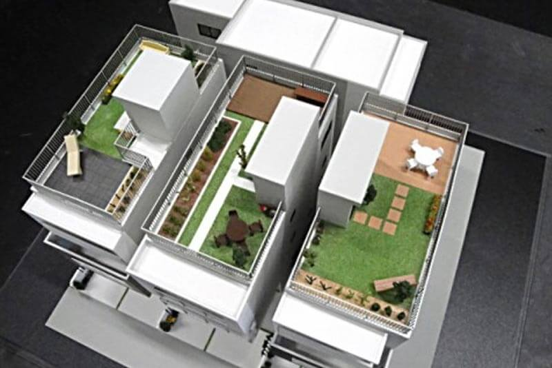 47 分譲地模型