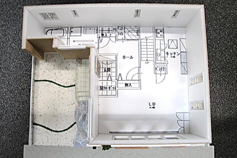 48 住宅模型_カラー