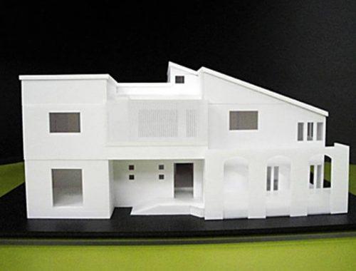 49 住宅模型_ホワイト(スタディ模型)