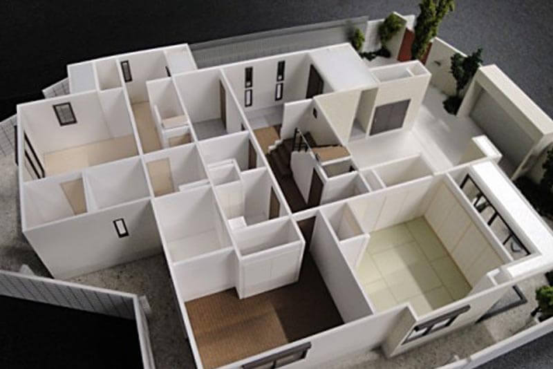 50 住宅模型_カラー