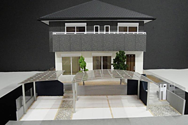 52 住宅模型 カラー