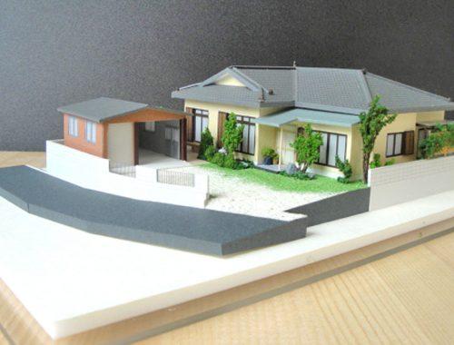 54 住宅模型_カラー